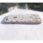 Damask Floral Beautiful Cute Printed Design Hard Transparent Back Cover iPhone 6s